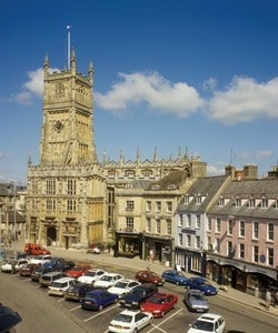 Hire a car or van in cirencester