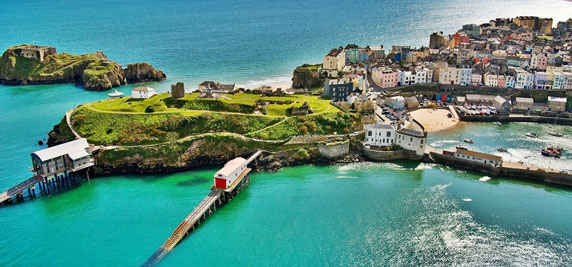 Tenby, Wales - top UK destinations